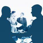 Verhandeln über Kreditbesicherungen